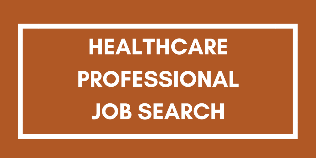 Healthcare job search
